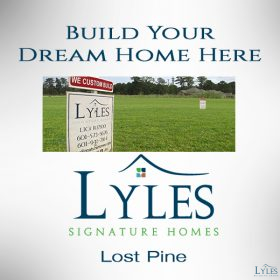 Build Your Dream Home Here!