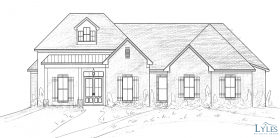 Custom Home in Progress in River Forest