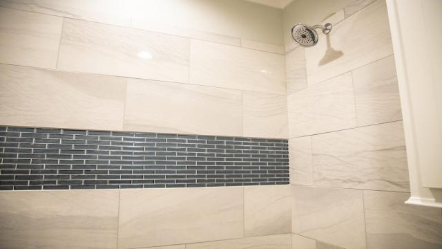 tile shower surround decorative glass tile band brandon mississippi