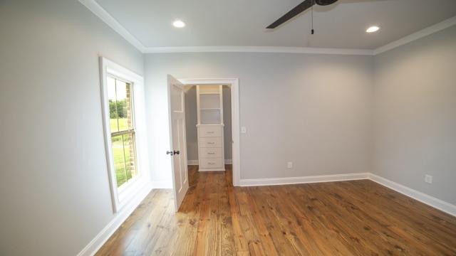 guest bedroom with closet built ins brandon mississippi