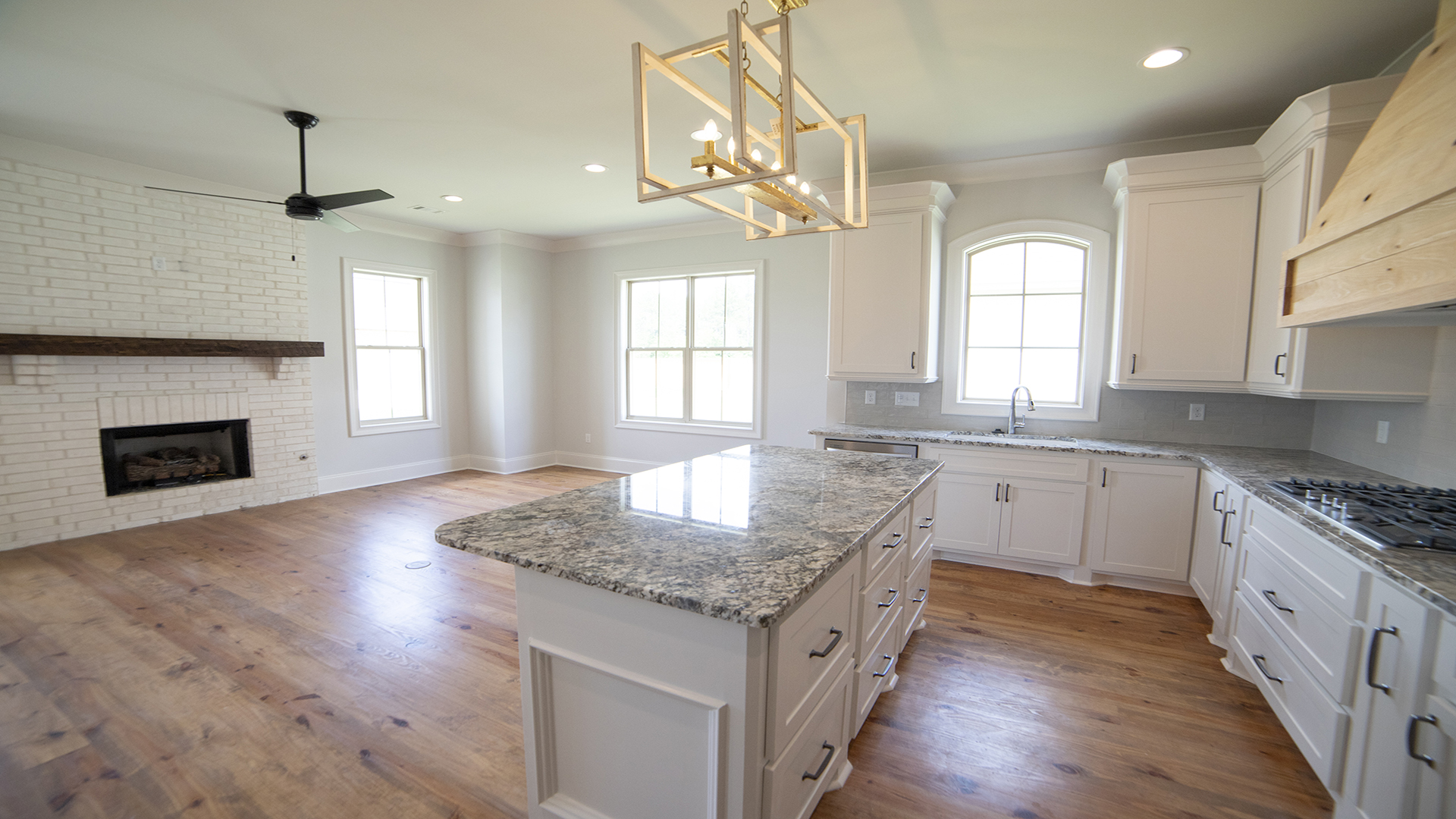 keeping room fireplace granite island countertops in brandon mississippi