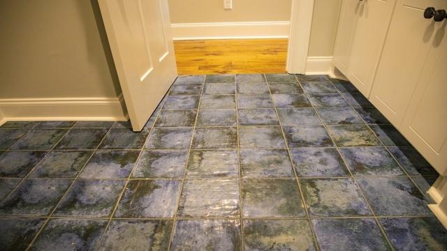 blue tile flooring brandon mississippi