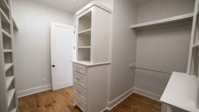 master closet built in cabinetry chest of drawers brandon mississippi