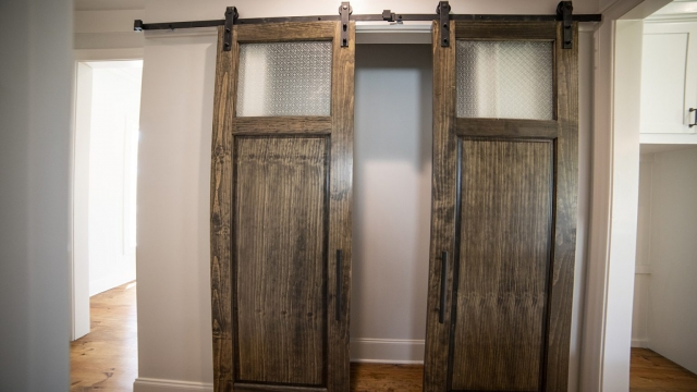double pantry barn doors with glass brandon mississippi