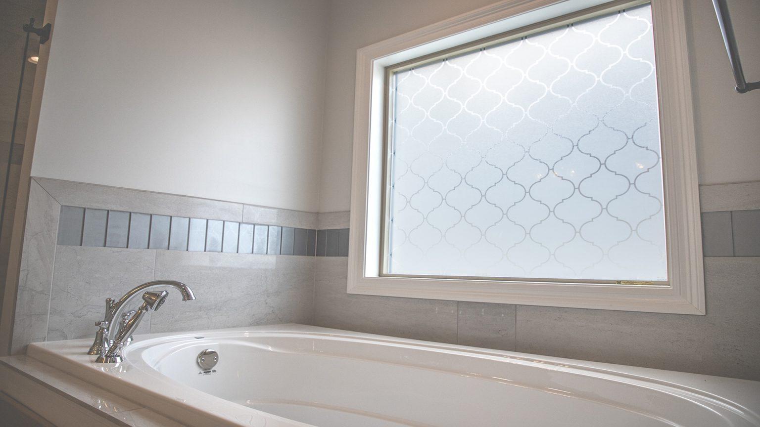 Bathtub with window in Flowood Mississippi